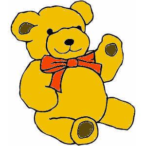 Teddy_Bear coloured red