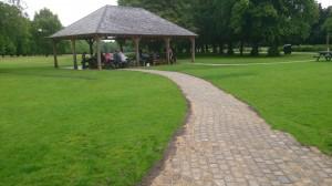 Paths to Marbury Lodge