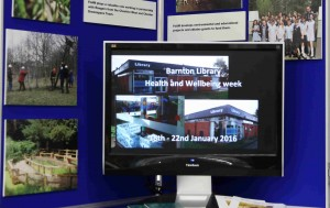 FoAM's display at Barnton Library